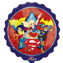DC Super Hero Girls Large Foil Balloon 1pc